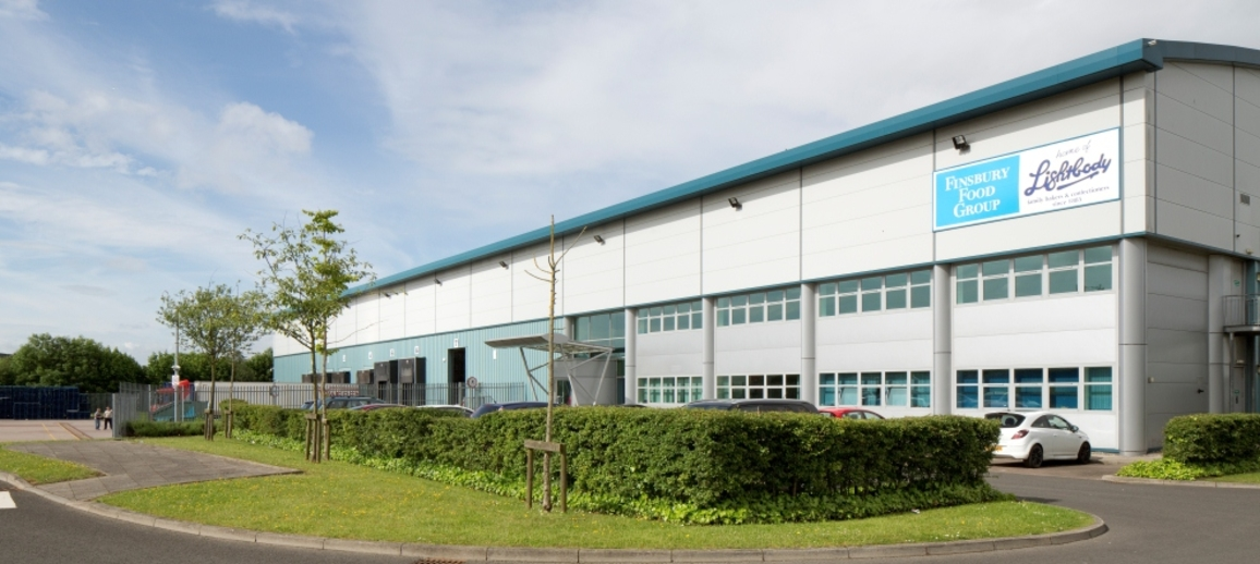 Eurocentral, Finsbury Food Group facility