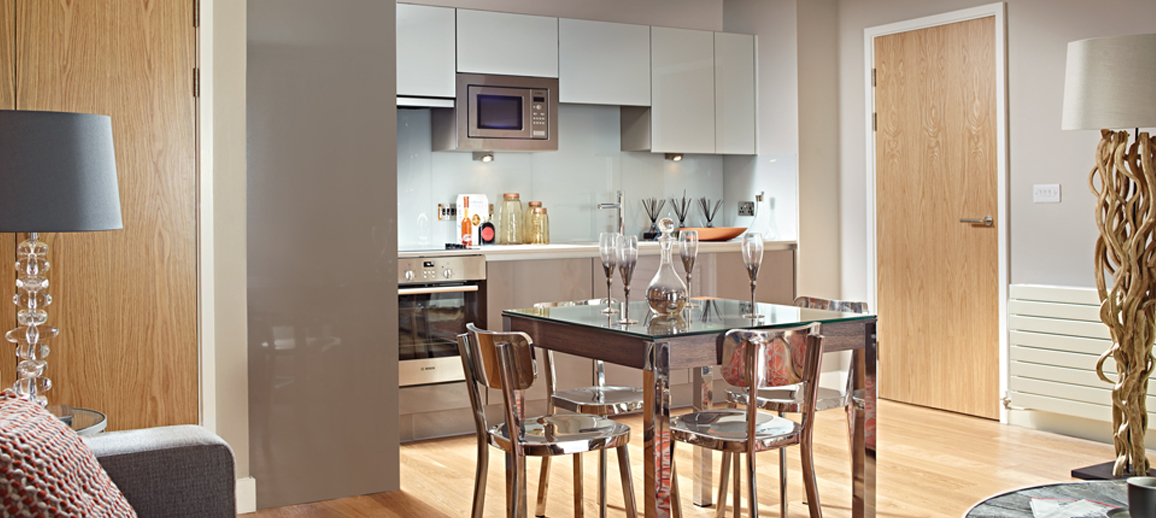 Photo of Wapping Wharf apartment interior