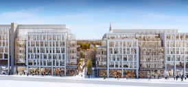 CGI of the Marischal Square development in Aberdeen