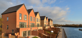 Photo of new homes at The Residence Lakeside