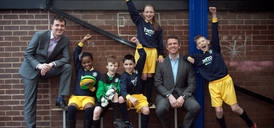 Pupils at St Philip's CE Primary School