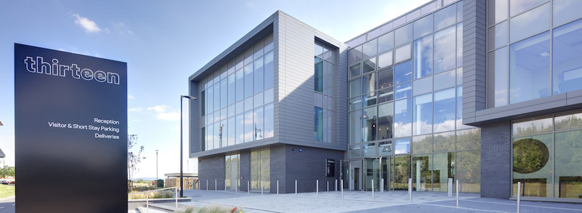 Photo of Thirteen Group's HQ offices at Northshore, Stockton-on-Tees