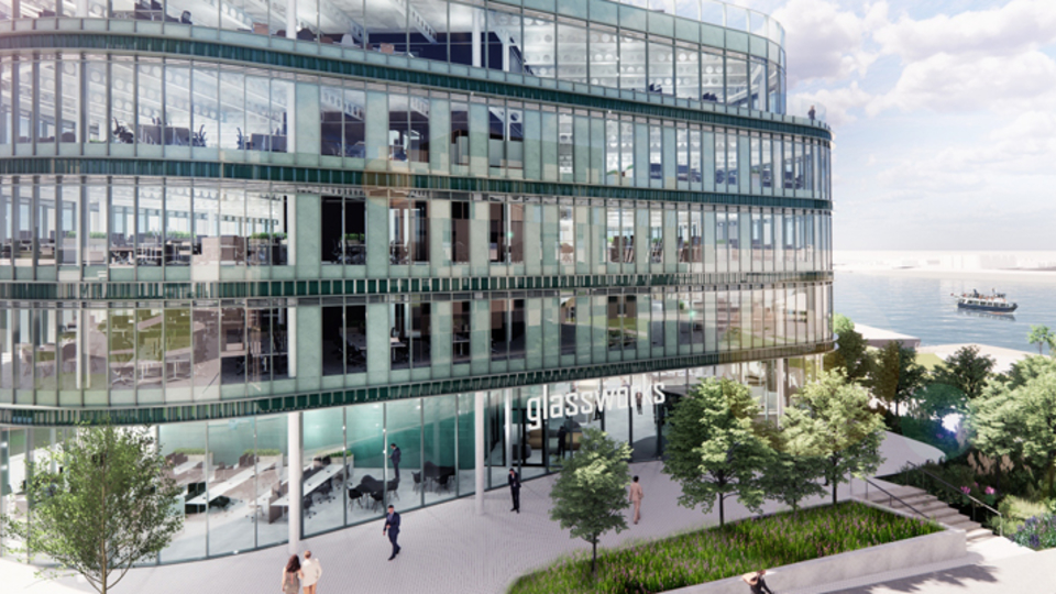 The Glassworks - a near net zero building coming to South Shields
