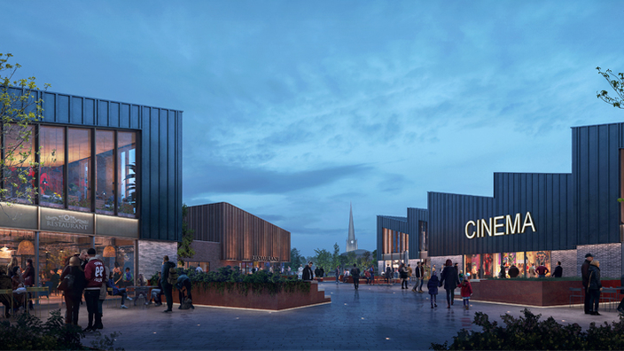Forge Island Rotherham cinema
